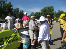 The BCBA float at the Boulder County Fair Parade
