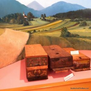 Slovenian (AZ) hives - Apicultural museum Radovljica, Slovenia