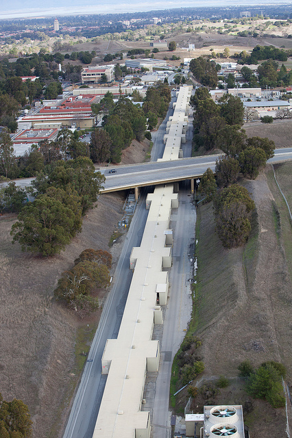 I-280 over Stanford Linear Accelerator